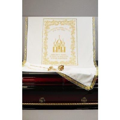 "Комплект вышивка на сетке ""Храм"""