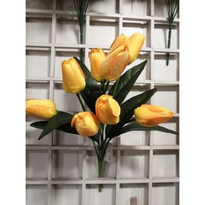 Букет тюльпанов 9 голов 48 см