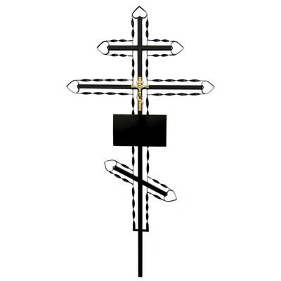 №3 Крест металлический