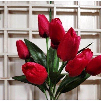 Б23 Букет тюльпанов 9 голов 47 см
