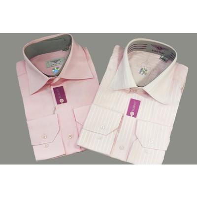 Рубашка мужская розовый