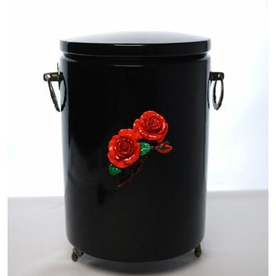 """Урна для праха глянцевая """"2 розы"""""""