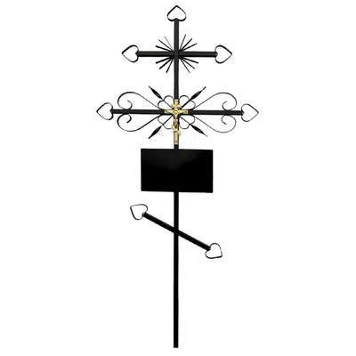 №2 Крест металлический