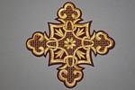 Термоаппликация-вышивка Крест
