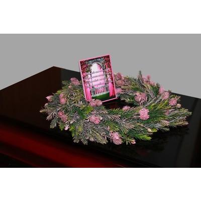 Венок на гроб пластик №2