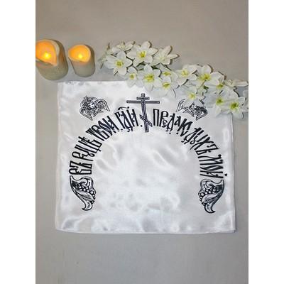 Чехол на подушку церковный шелк