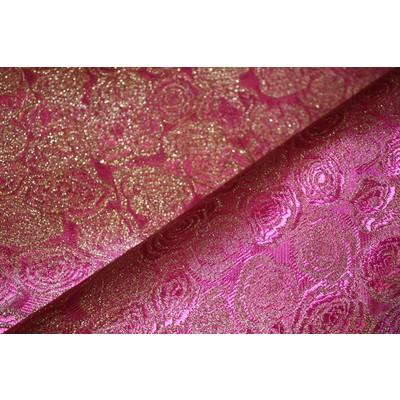 Парча «Розалия» розовый