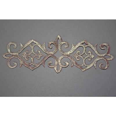 Термоаппликация «Орнамент» серебро