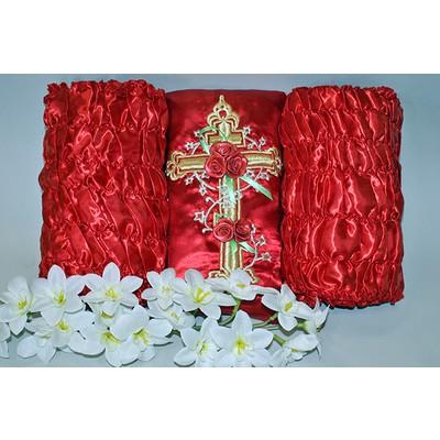 Обивка «Крест-Декор» атлас