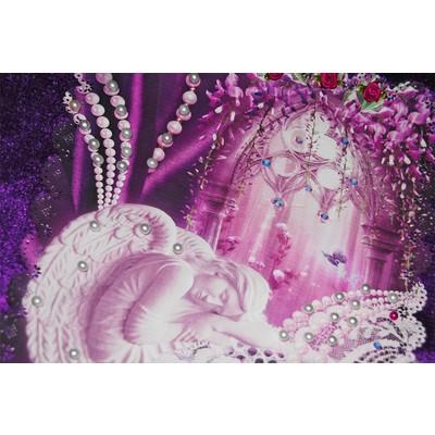 Обивка «Жемчуг» фиолет