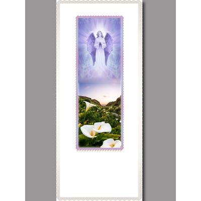Покрывало атлас с печатью «Ангел»