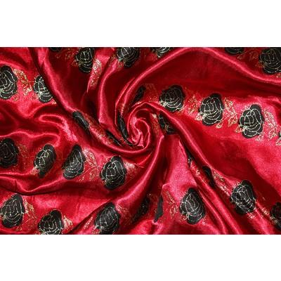 Атлас «Принт — Роза» 2,6 м. шир.