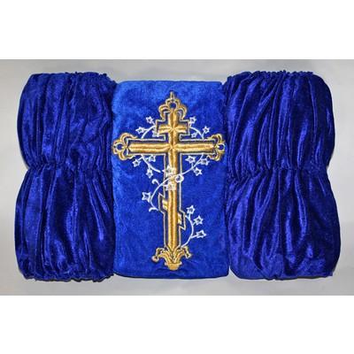 Обивка «Крест» бархат эконом
