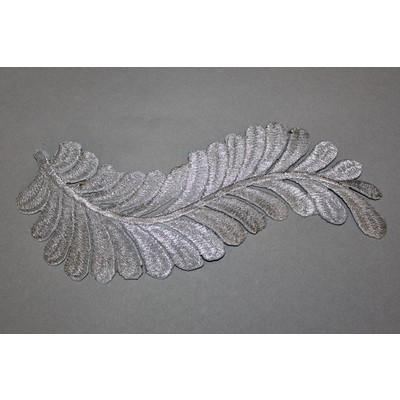 Термоаппликация «Ветвь» серебро